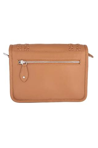 Woven Flap Clutch with Sling