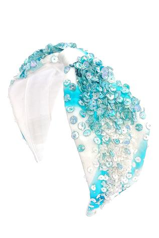 Sequin Organza Headband