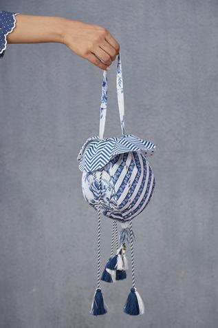 Handwoven Chanderi Potli Bag
