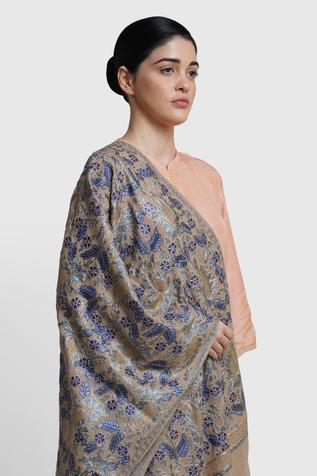 Cashmere Embroidered Stole