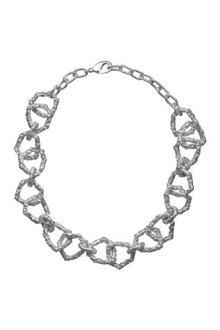 Flower Child by Shaheen Abbas Choker Link Necklace (Single Piece)
