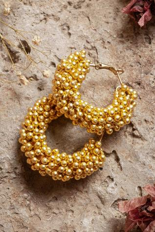 Bead Handcrafted Hoops