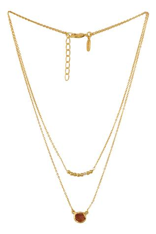 Aries Stone Layered Necklace