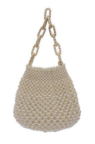 Bead Embellished Handbag