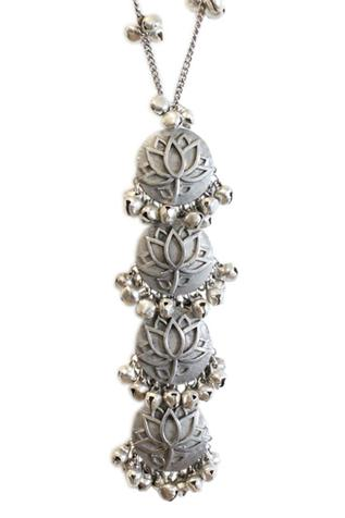 Floral Tiered Pendant Necklace