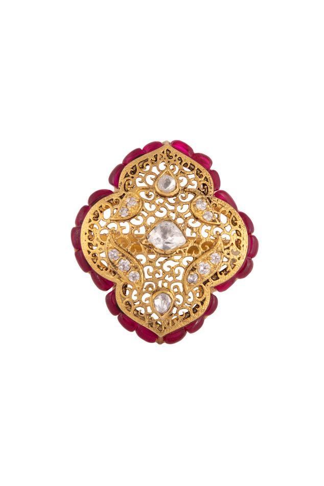 Polki Cutwork Ring