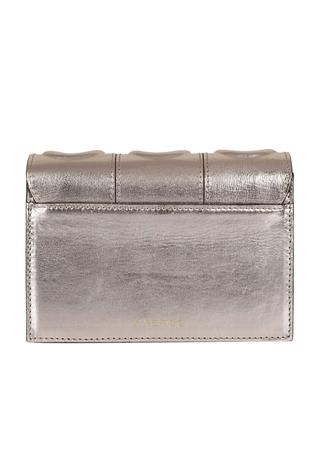 Metallic Flap Sling Bag