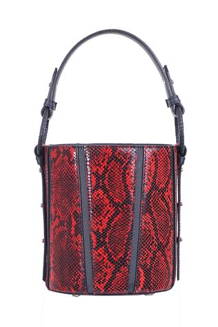 Printed Bucket Sling Bag