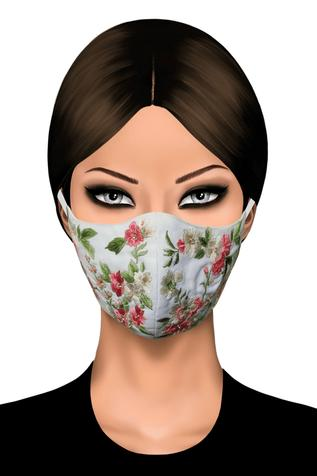 Gaya - Accessories Embroidered Face Mask (Single Pc)