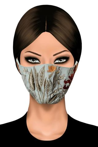 Embroidered Face Mask (Single Pc)