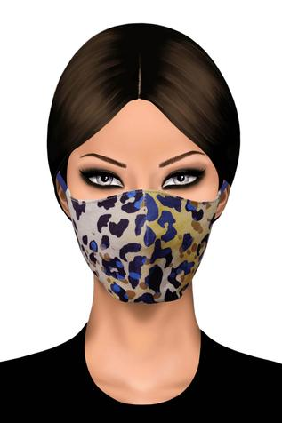 Animal Print Face Mask (Single Pc)