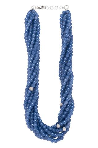 Handmade Bead Layered Necklace