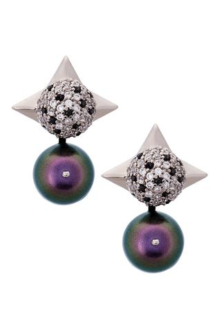 Spiked Bead Studs