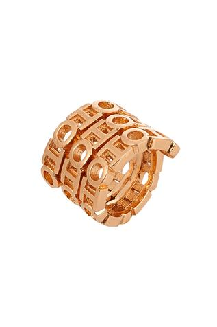 Monogram Double Spin Ring
