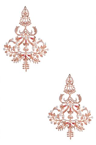 Floral Bead Chandeliers