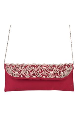 Silk Flapover Sling Bag