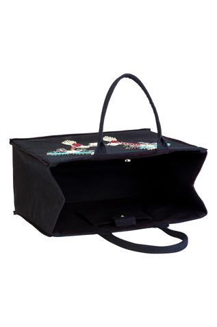 Gaya - Accessories Cotton Canvas Embellished Tote Bag