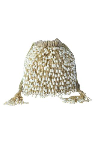 Bead Tassel Potli Bag