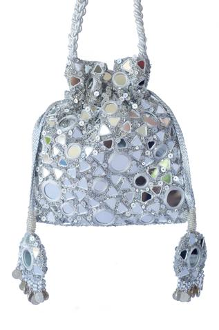 Mirror Embellished Polti Bag