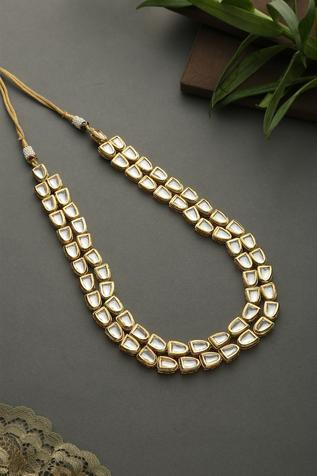 Layered Kundan Necklace