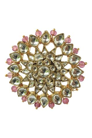 Riana Jewellery Floral Stone Ring