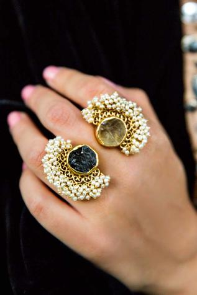 Stone Filigree Ring