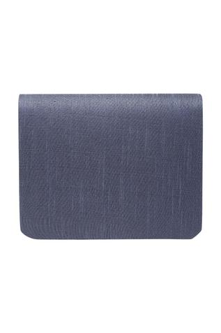The Purple Sack Embroidered Flap Clutch with Sling