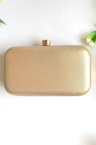 Sole House Embroidered Box Clutch