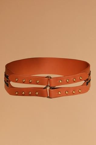 S&N by Shantanu and Nikhil - Accessories  Swat Dual Belt
