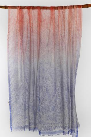 Cashmere Frayed Scarf