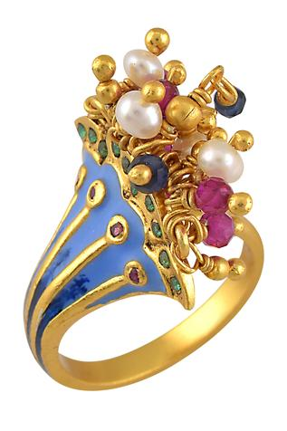 Tribe Amrapali Handcrafted Ring