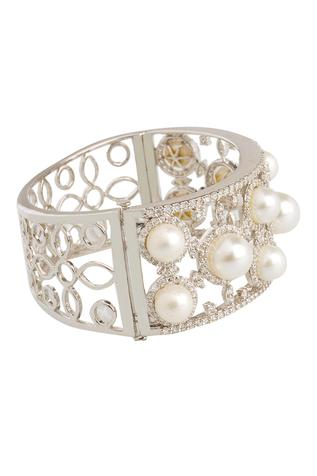 Bead Cutwork Bangle
