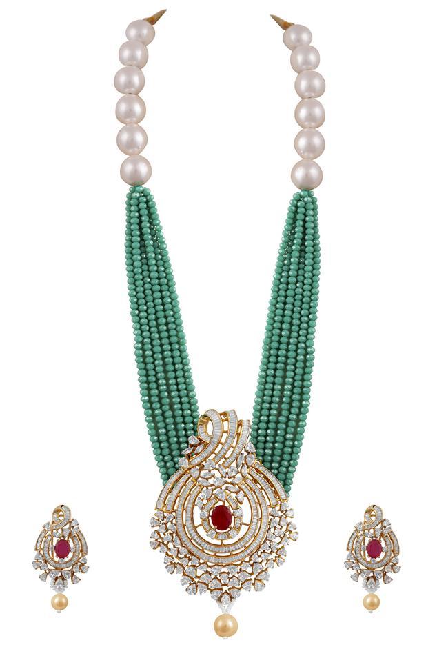 Tizora Multistrand Beaded Necklace Set