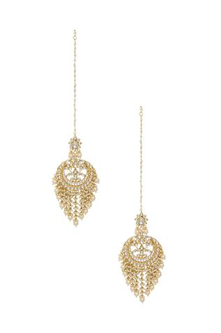 Bead & crystal chandbalis