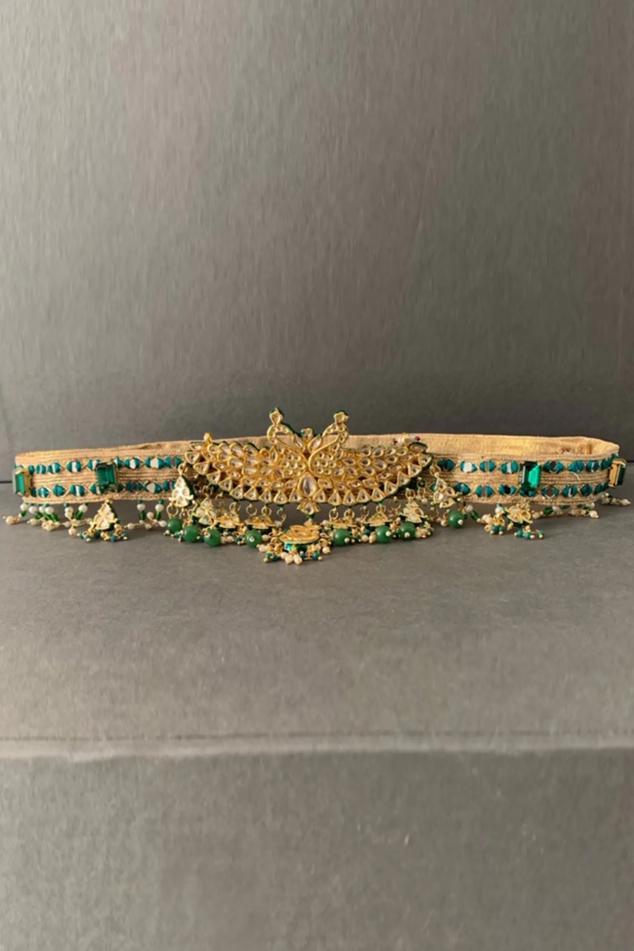 Banarasi Silk Meenakari Belt