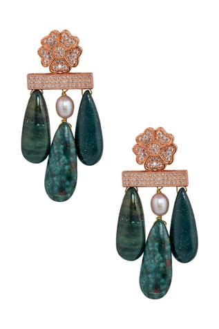 Handcrafted Taylor Stone Danglers
