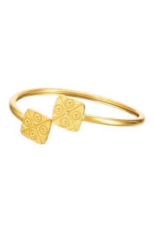 Carved Geometric Cuff (single pc only)