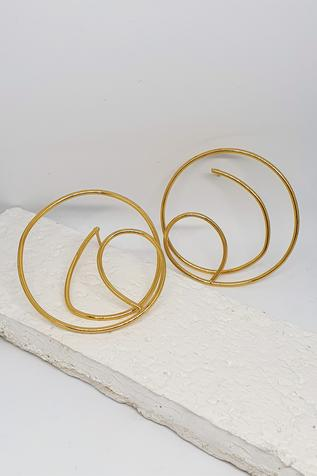 Handcrafted Wired Hoops
