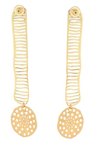 Geometric Cutwork Danglers
