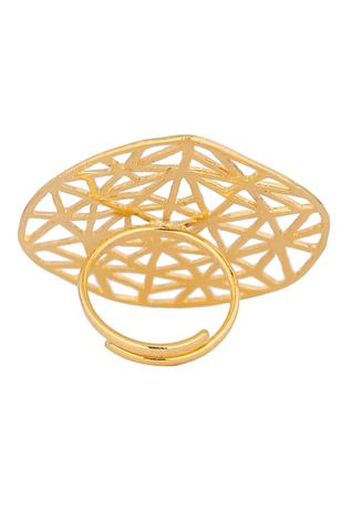 Geometric Cutwork Ring