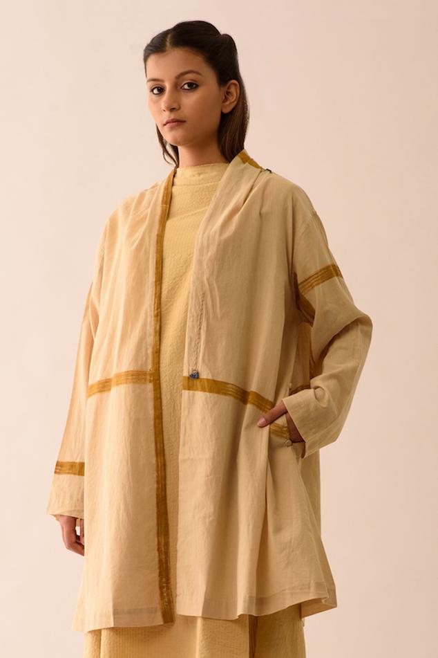 Upcycled Cotton Overlay Jacket