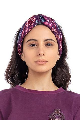 Knotted Embroidered Headband