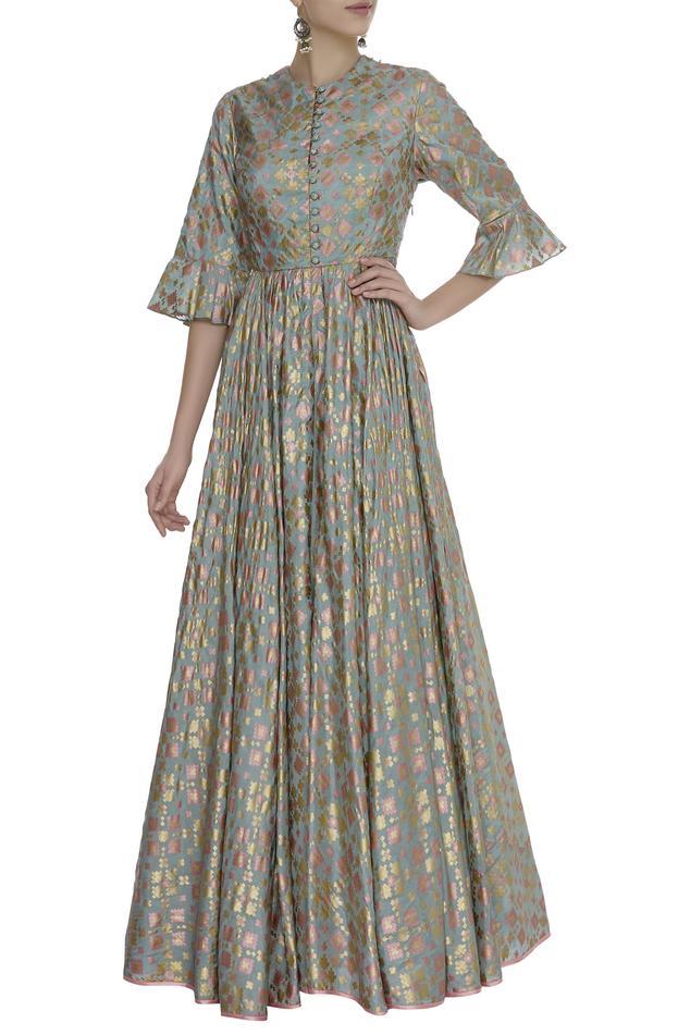Brocade Anarkali Gown