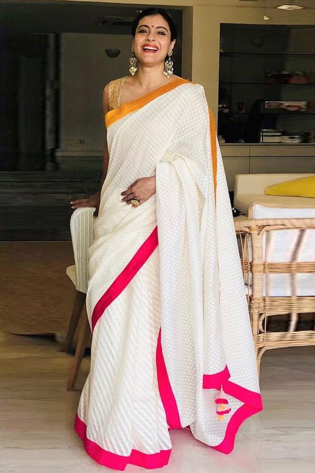 Banarasi Cotton Saree with Blouse