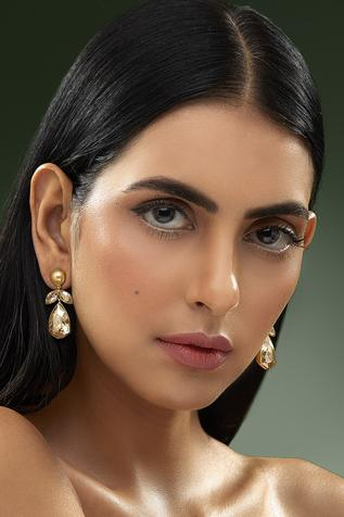 Shivan and Narresh crystal drop earrings
