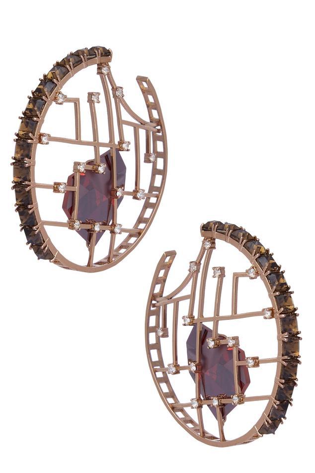 Crystal Hoops