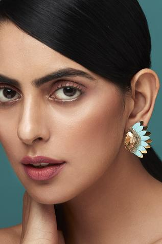 Deepa Gurnani Petal Earrings
