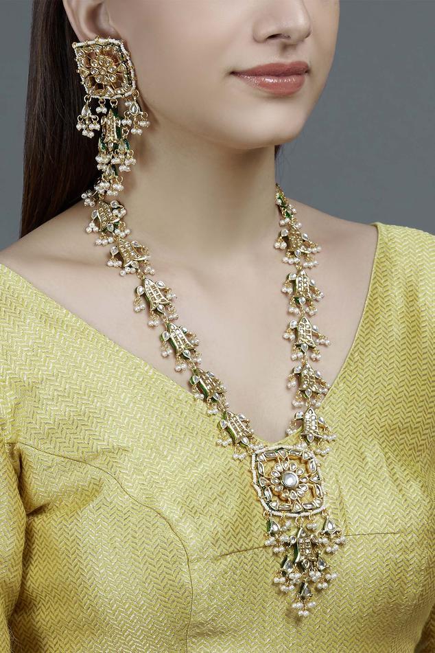Meenakari Jewellery Set