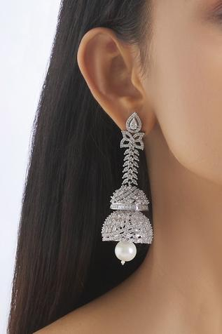 Stone Long Earrings