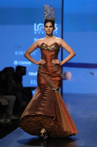 Embellished Fish Cut Gown
